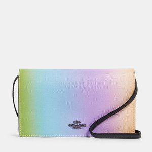 🎁Coach oldover Crossbody Clutch With Ombre